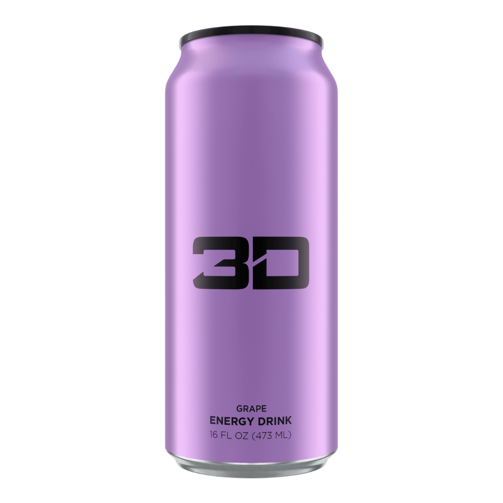 Christian Guzman's 3D Energy Drink Purple Grape, Energy Drinks, 3D Energy, Protein Package, Pick and Mix Protein UK