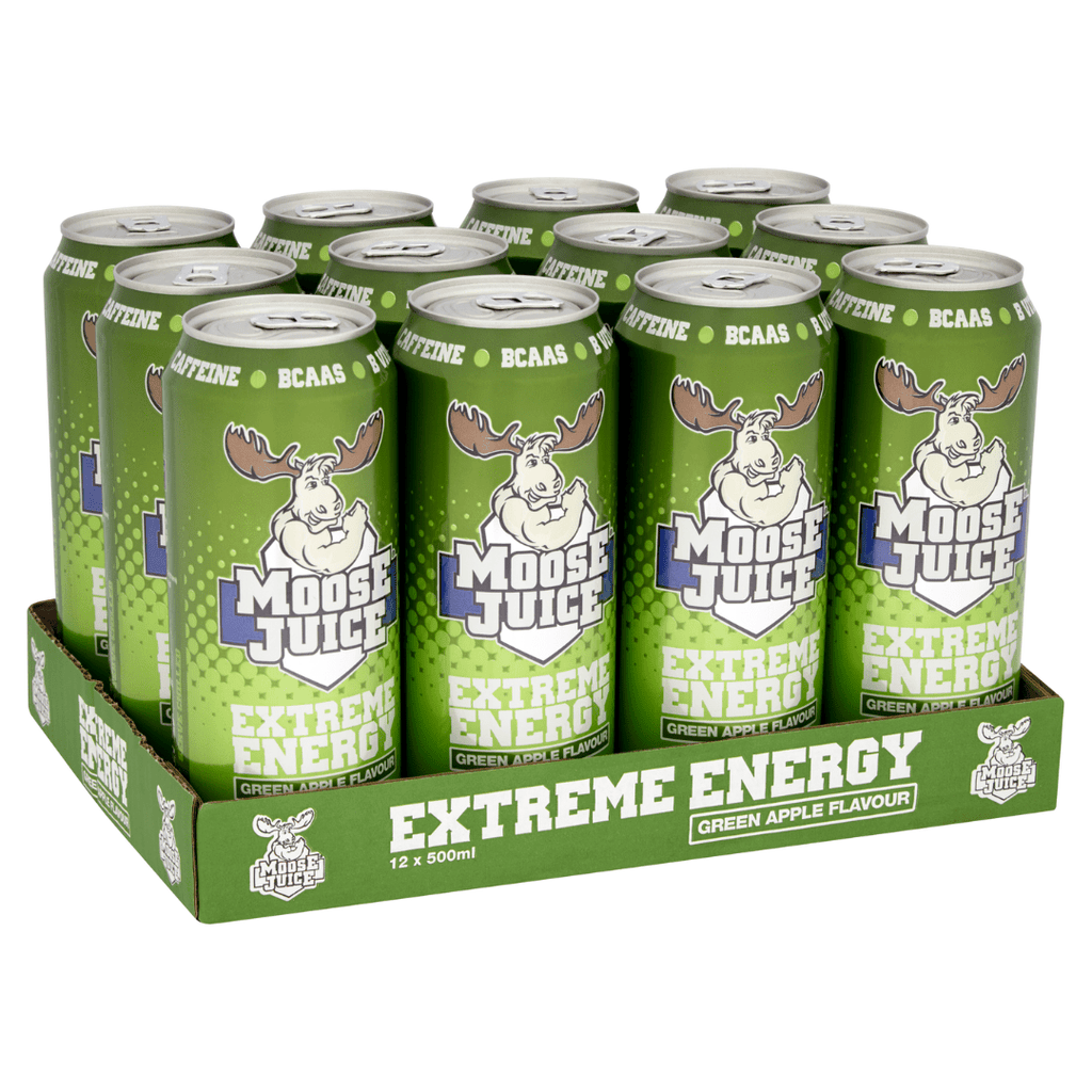 Muscle Moose Moose Juice Green Apple, Energy Drinks, Muscle Moose, Protein Package Protein Package Pick and Mix Protein UK