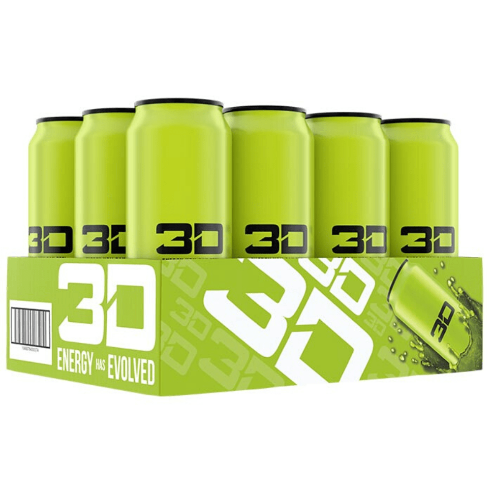 3D Energy Drink Box (12 Cans), Energy Drinks, 3D Energy, Protein Package Protein Package Pick and Mix Protein UK