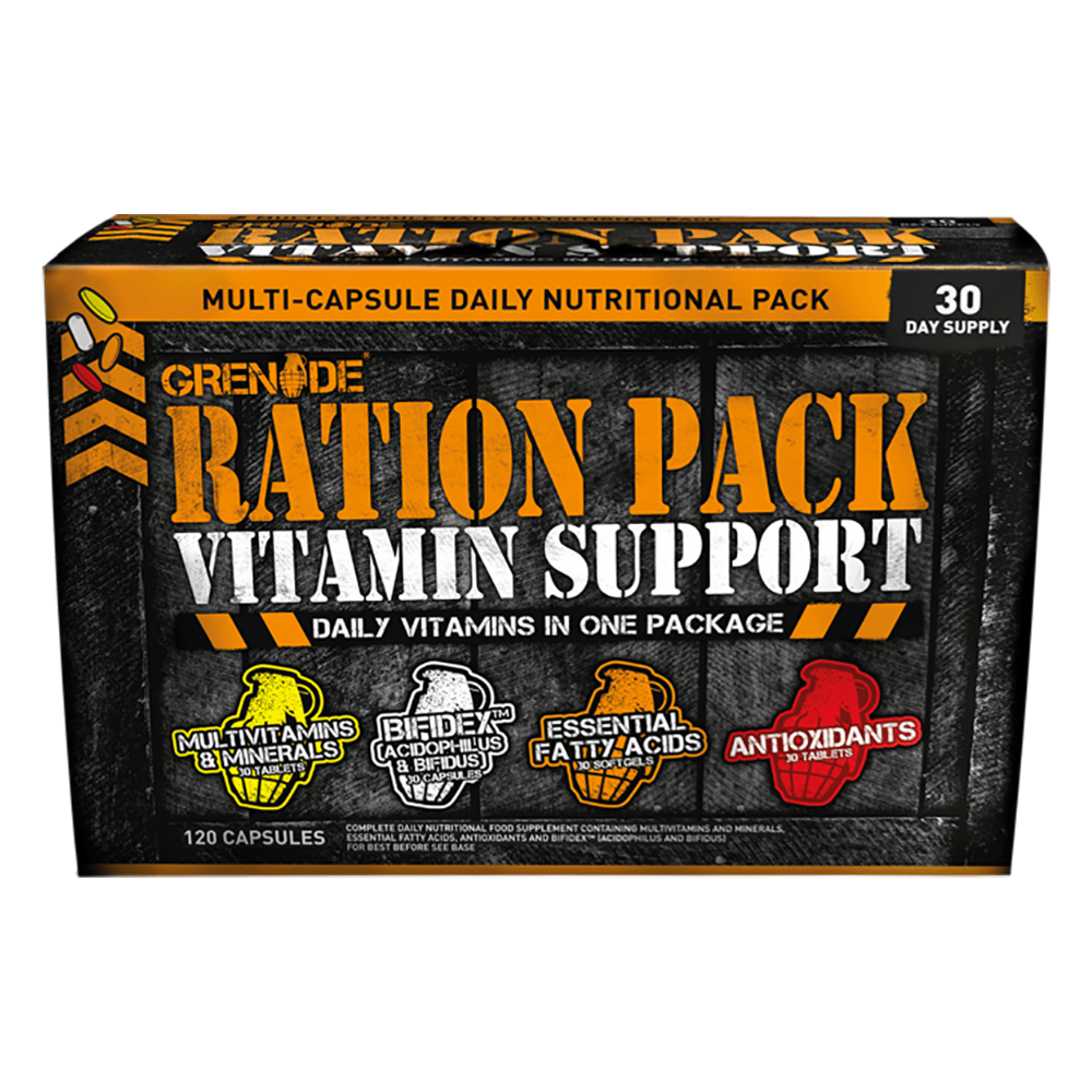 Grenade Daily Vitamin Support Ration Pack, Supplements, Grenade, Protein Package Protein Package Pick and Mix Protein UK