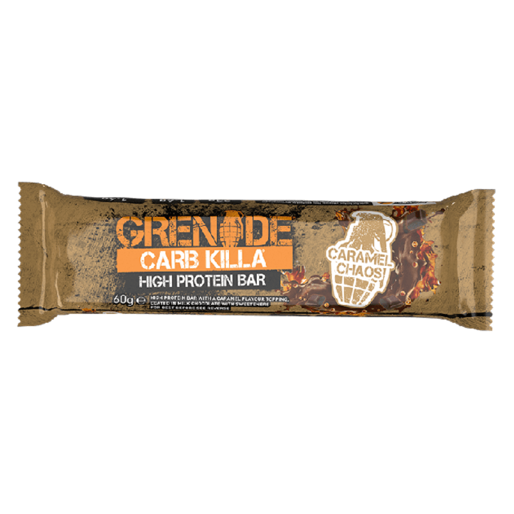 Grenade Carb Killa Protein Bar Caramel Chaos - Protein Package