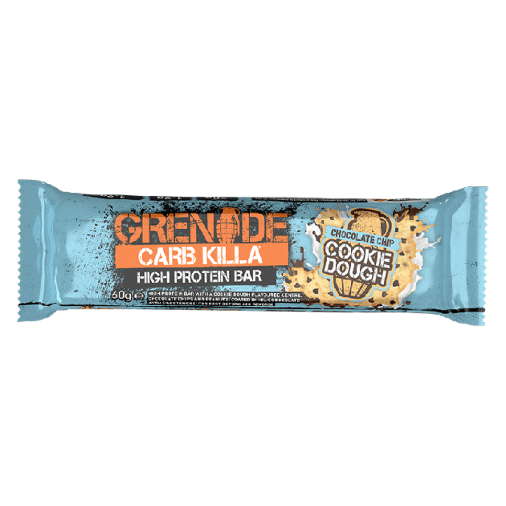 Grenade Carb Killa Protein Bar Chocolate Chip Cookie Dough, Protein Bars, Grenade, Protein Package Protein Package Pick and Mix Protein UK