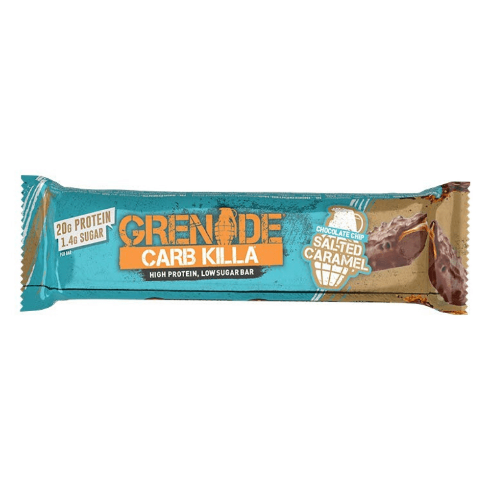 Grenade Carb Killa Protein Bar Chocolate Chip Salted Caramel, Protein Bars, Grenade, Protein Package Protein Package Pick and Mix Protein UK