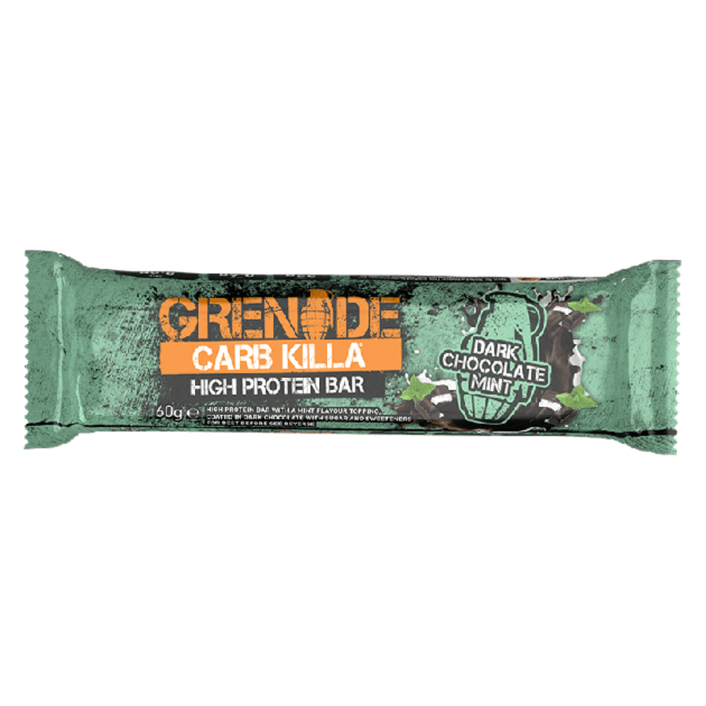 Grenade Carb Killa Protein Bar Dark Chocolate Mint, Protein Bar, Grenade, Protein Package Protein Package Pick and Mix Protein UK