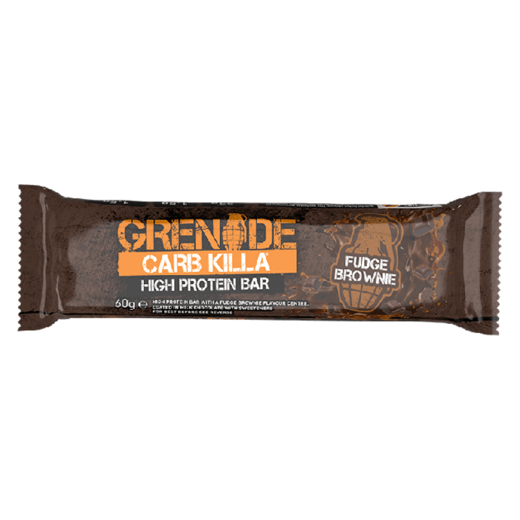 Grenade Carb Killa Protein Bar Fudge Brownie - Protein Package