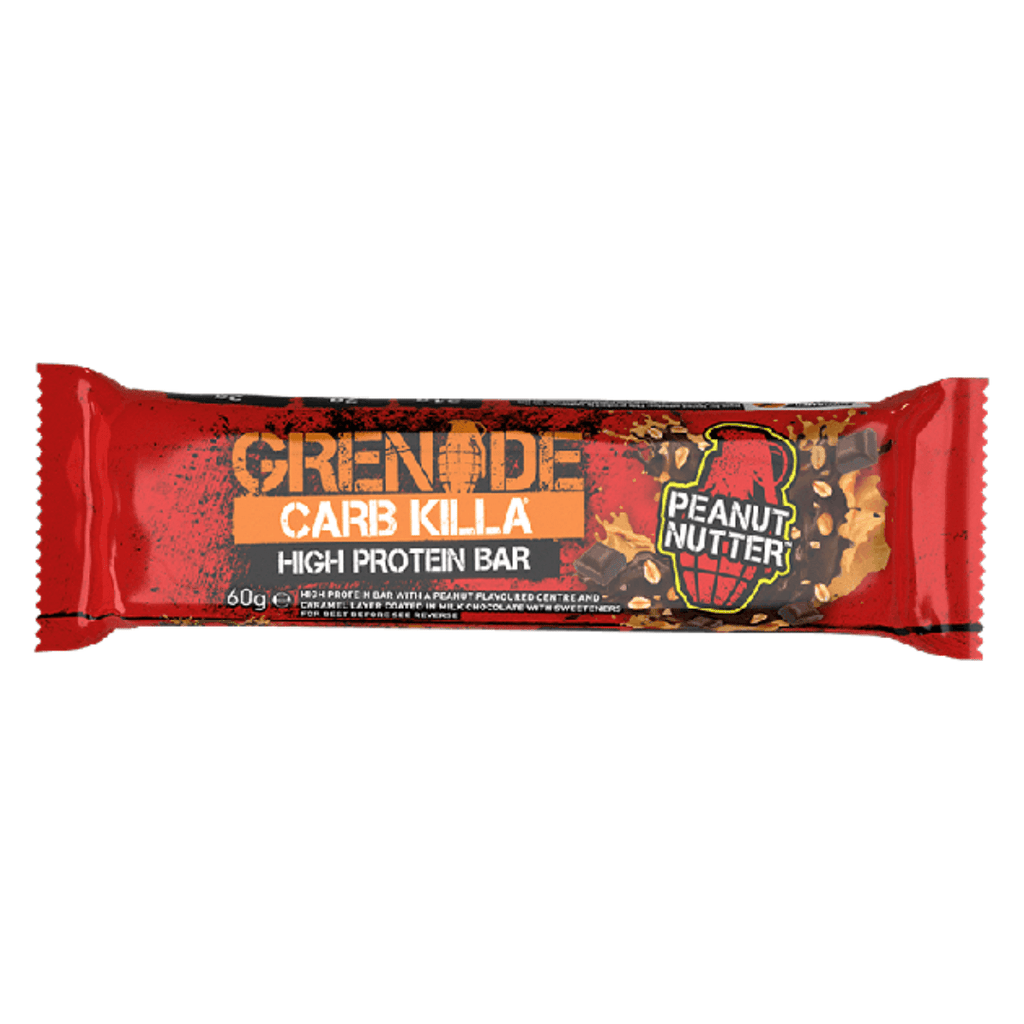 Grenade Carb Killa Protein Bar Peanut Nutter, Protein Bars, Grenade, Protein Package Protein Package Pick and Mix Protein UK