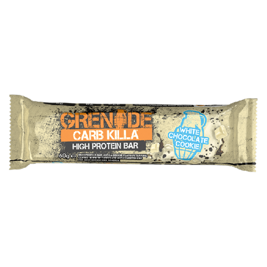 Grenade Carb Killa Protein Bar White Chocolate Cookie - Protein Package