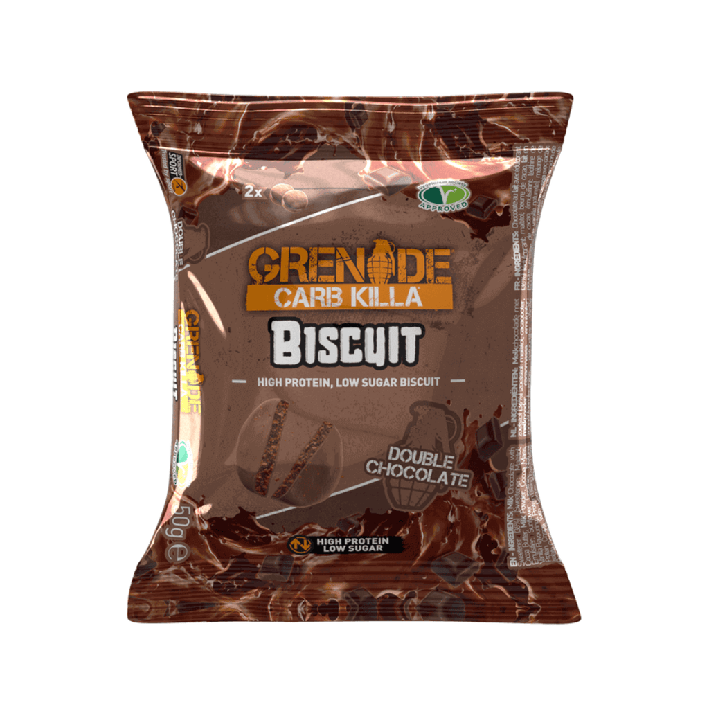 Grenade Carb Killa Protein Biscuit Double Chocolate, Protein Cookie, Grenade, Protein Package Protein Package Pick and Mix Protein UK