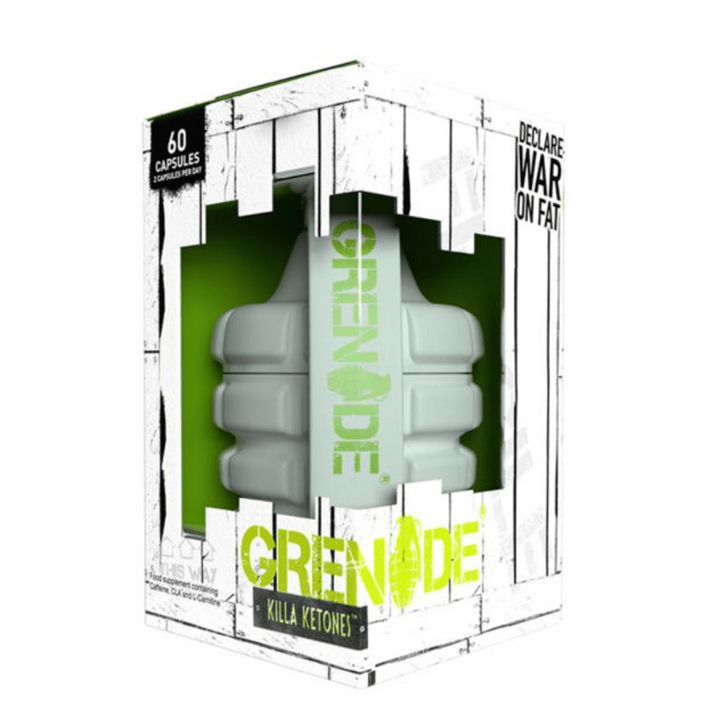 Grenade Killa Ketones Capsules, Weight Management, Grenade, Protein Package, Pick and Mix Protein UK