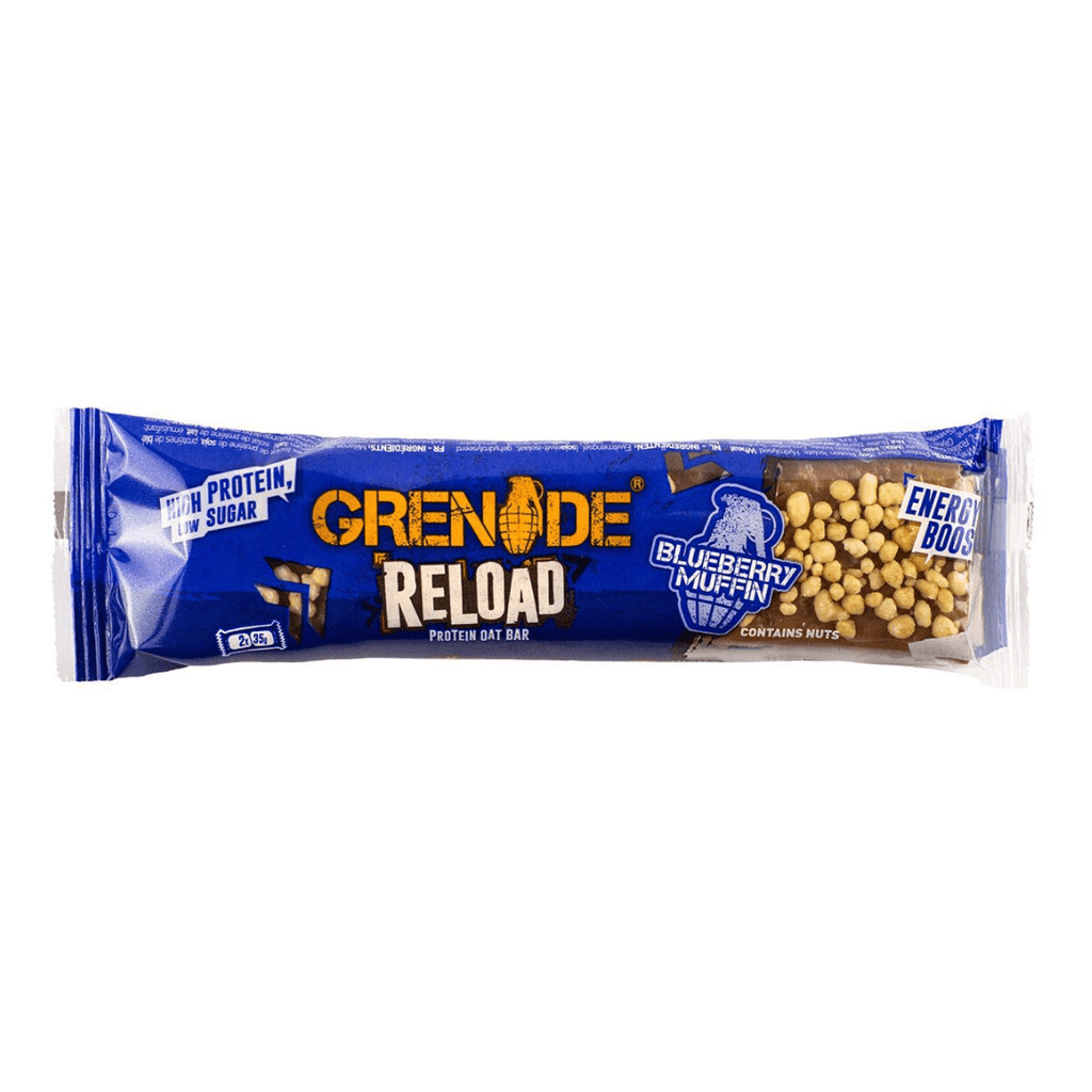 Grenade Reload Protein Oat Bar Blueberry Muffin, Protein Bars, Grenade, Protein Package Protein Package Pick and Mix Protein UK