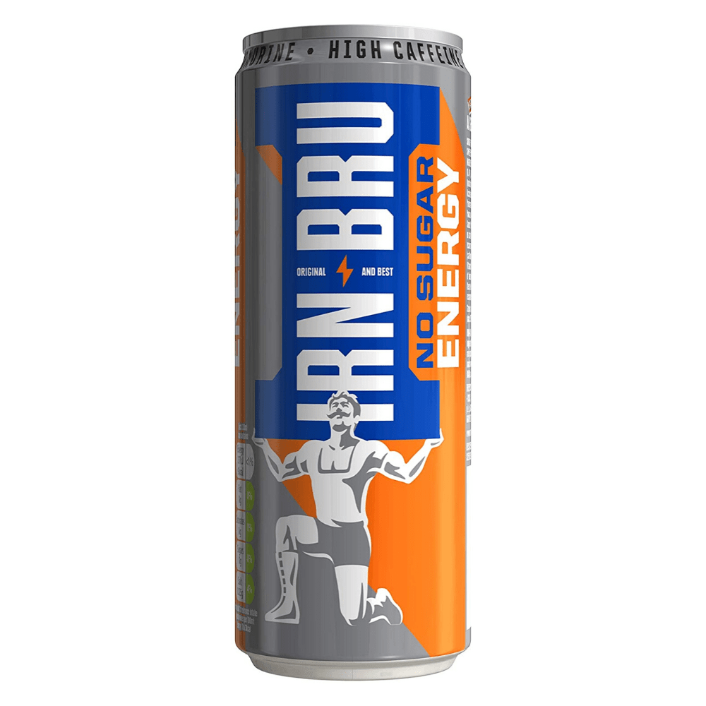 IRN-BRU Energy Drink Zero Sugar, Energy Drinks, IRN-BRU, Protein Package Protein Package Pick and Mix Protein UK