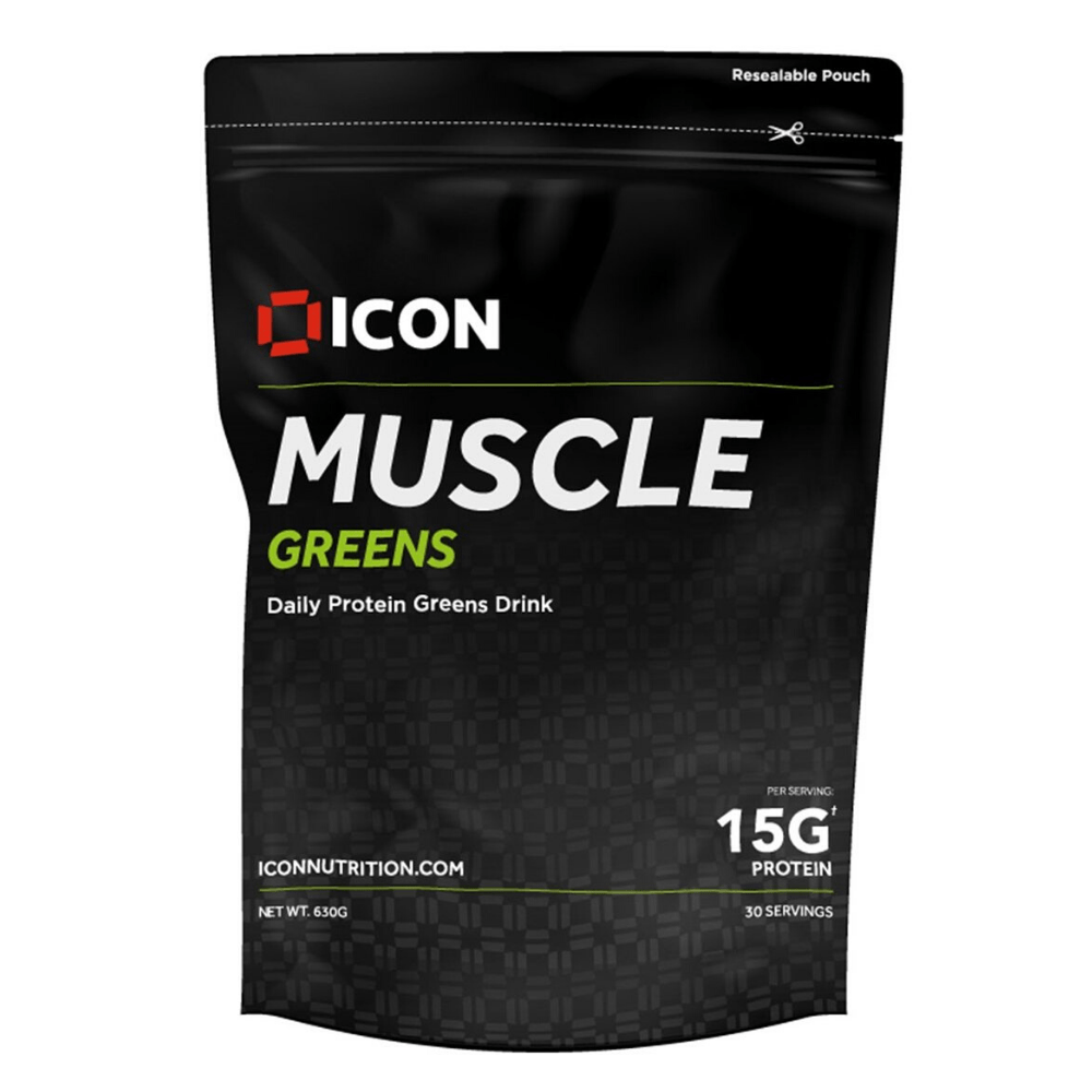 Icon Nutrition Muscle Greens Protein Powder, Protein Powder, Icon Nutrition, Protein Package Protein Package Pick and Mix Protein UK