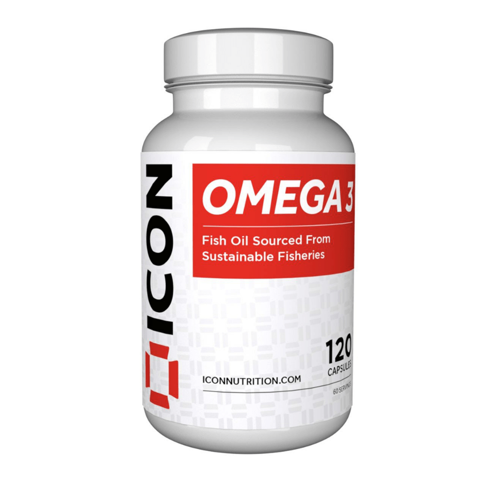 Icon Nutrition Omega 3 Capsules, Supplements, Icon Nutrition, Protein Package Protein Package Pick and Mix Protein UK