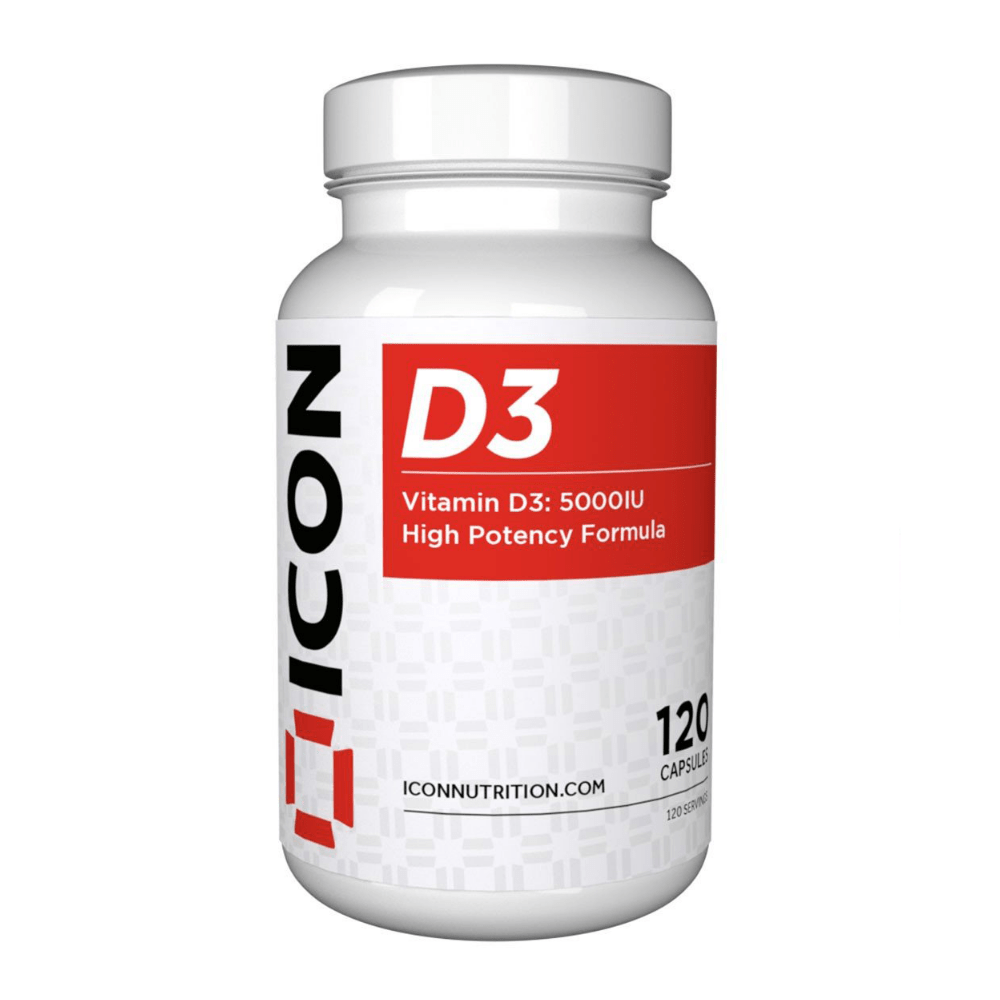 Icon Nutrition Vitamin D3 Capsules, Supplements, Icon Nutrition, Protein Package Protein Package Pick and Mix Protein UK