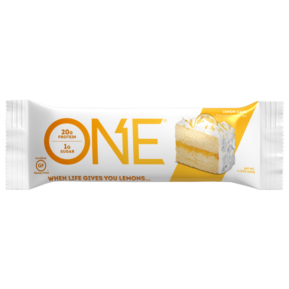 Lemon Cake ONE Brands Protein Bars Single Bar Pick and Mix UK