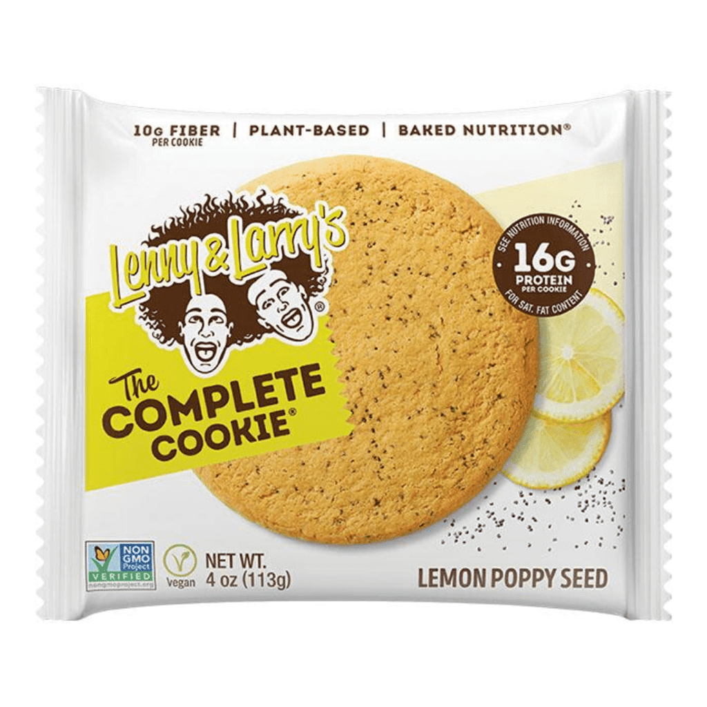 Lenny & Larry's Complete Cookie Lemon Poppy Seed, Protein Cookies, Lenny & Larry's, Protein Package Protein Package Pick and Mix Protein UK
