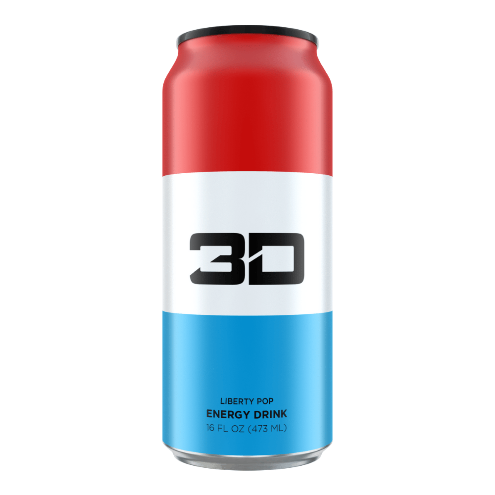 Christian Guzman's 3D Energy Drink Liberty Pop