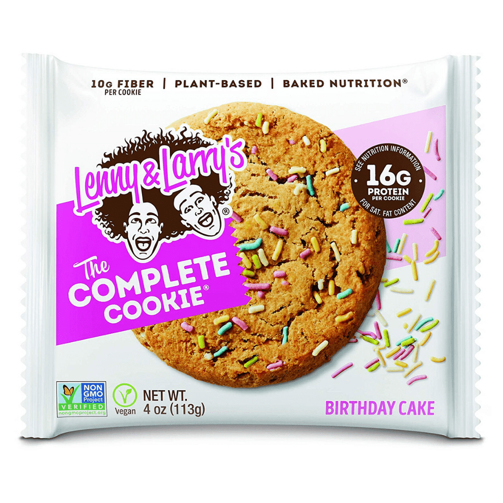 Lenny & Larry's Complete Cookie Birthday Cake, Protein Cookies, Lenny & Larry's, Protein Package, Pick and Mix Protein UK