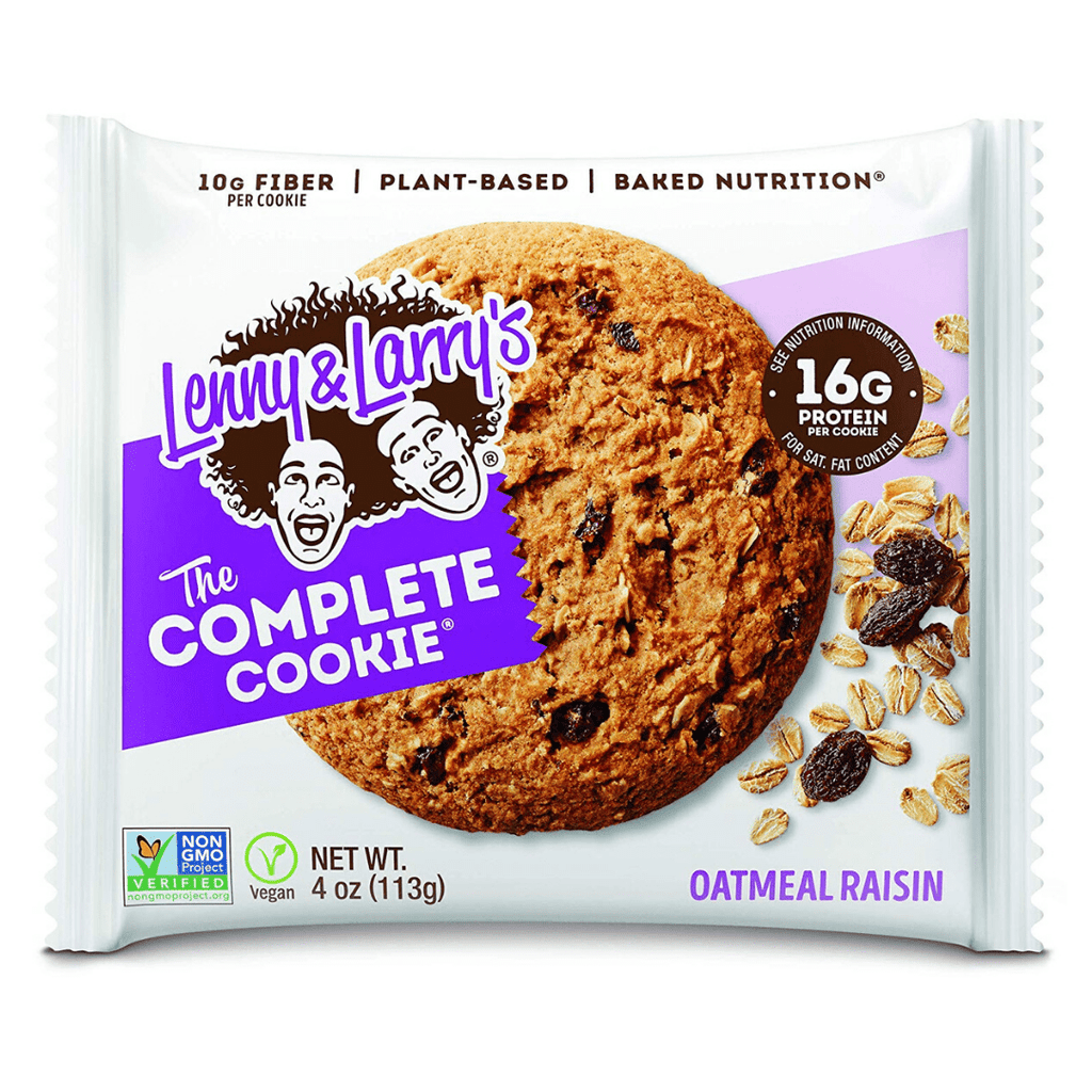 Lenny & Larry's Complete Cookie Oatmeal Raisin, Protein Cookies, Lenny & Larry's, Protein Package, Pick and Mix Protein UK