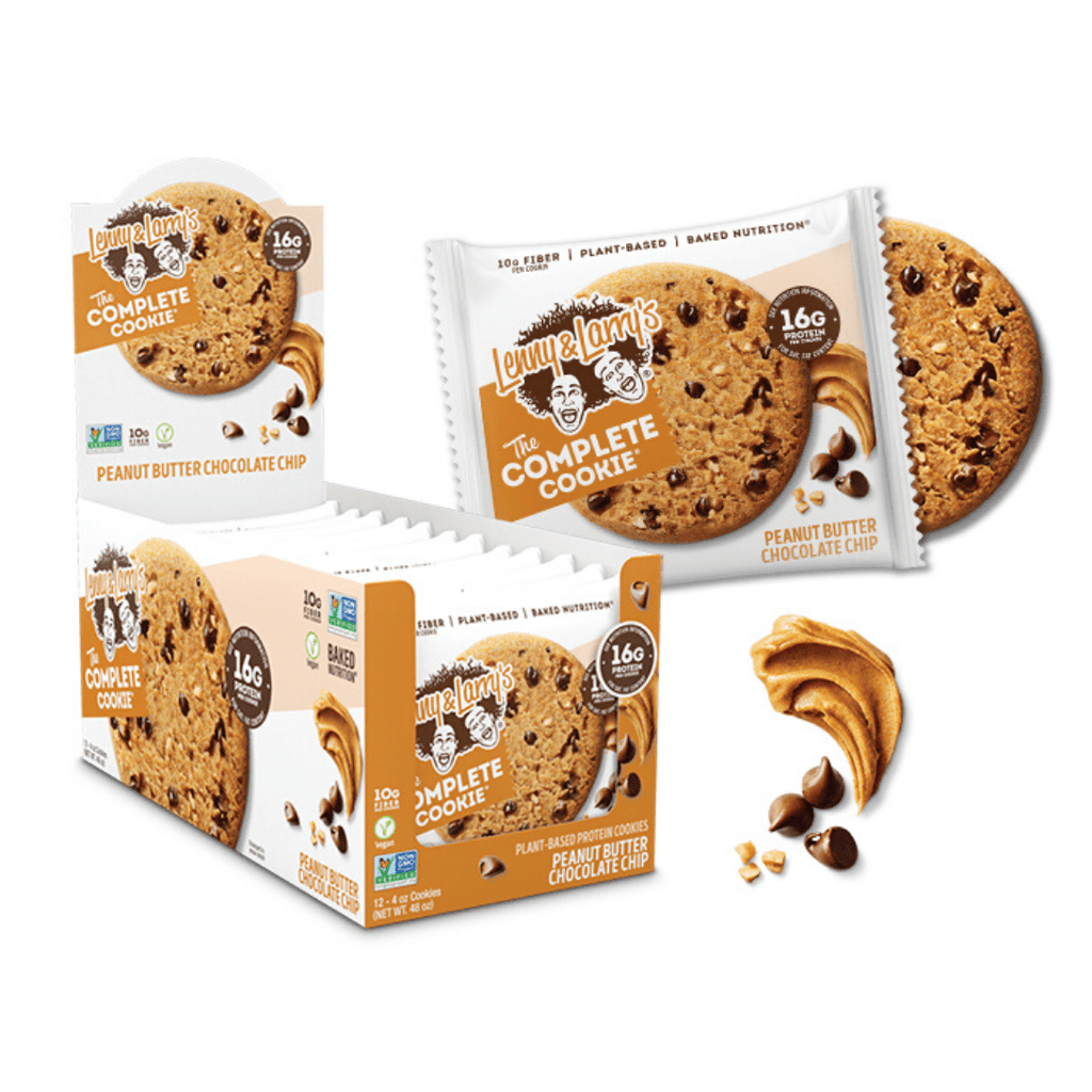Lenny & Larry's Complete Cookie Peanut Butter Chocolate Chip, Protein Cookies, Lenny & Larry's, Protein Package, Pick and Mix Protein UK