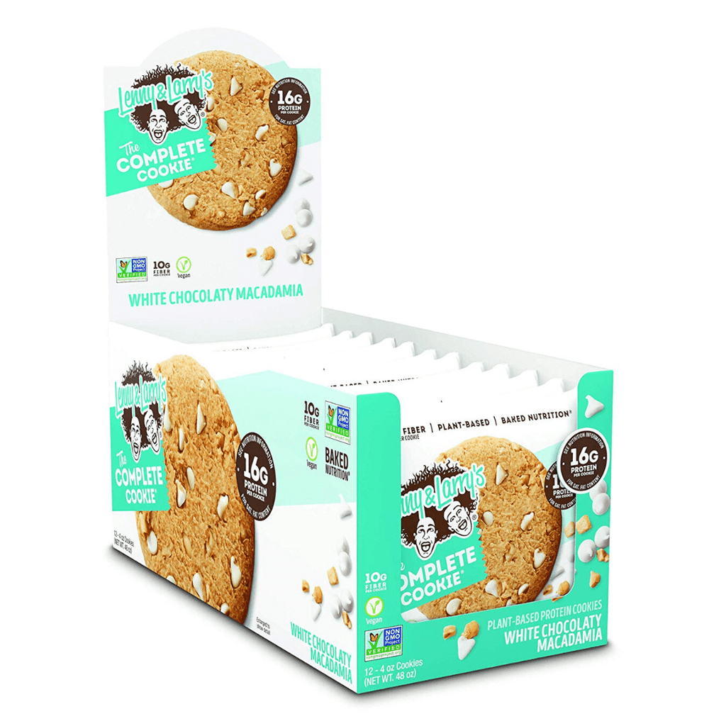 Lenny & Larry's Complete Cookie White Chocolate Macadamia Nut, Protein Cookies, Lenny & Larry's, Protein Package Protein Package Pick and Mix Protein UK
