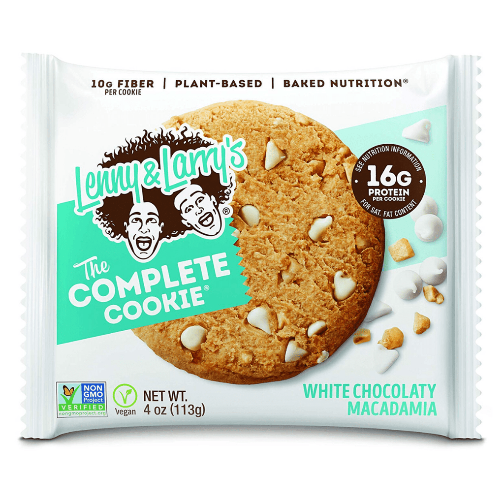 Lenny & Larry's Complete Cookie White Chocolate Macadamia Nut, Protein Cookies, Lenny & Larry's, Protein Package, Pick and Mix Protein UK