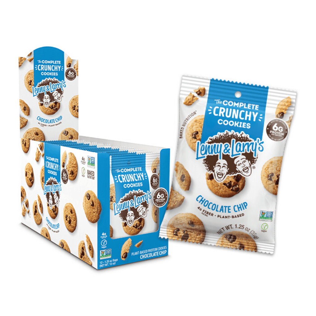Lenny & Larry's Complete Crunchy Cookies Chocolate Chip, Protein Cookies, Lenny & Larry's, Protein Package Protein Package Pick and Mix Protein UK