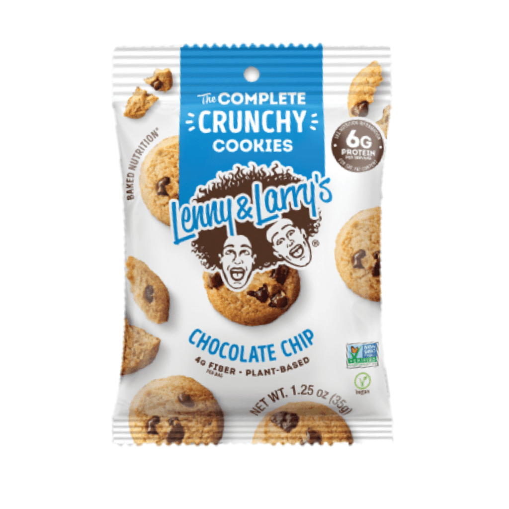 Lenny & Larry's Complete Crunchy Cookies Chocolate Chip, Protein Cookies, Lenny & Larry's, Protein Package, Pick and Mix Protein UK