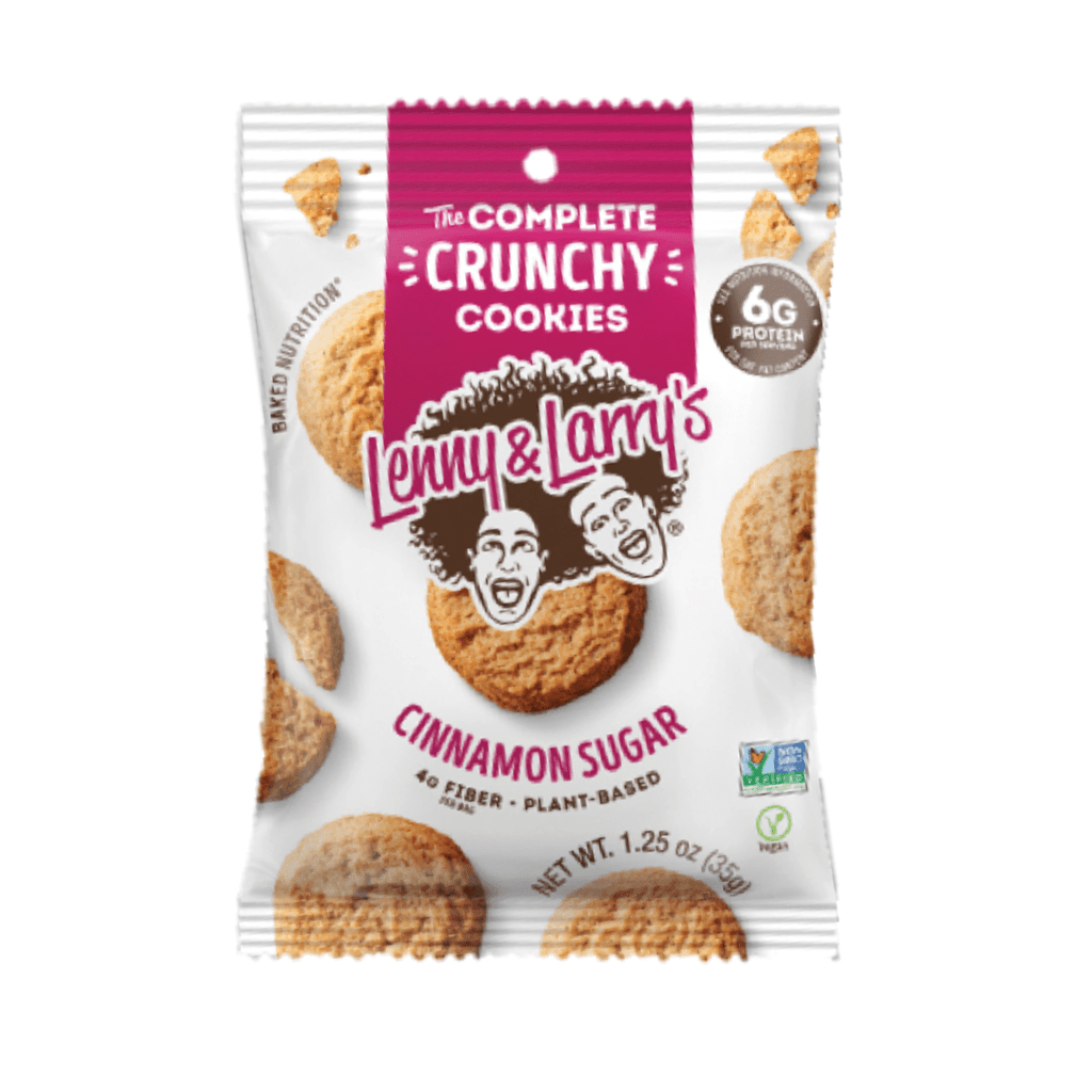 Lenny & Larry's Complete Crunchy Cookies Cinnamon Sugar - Protein Package