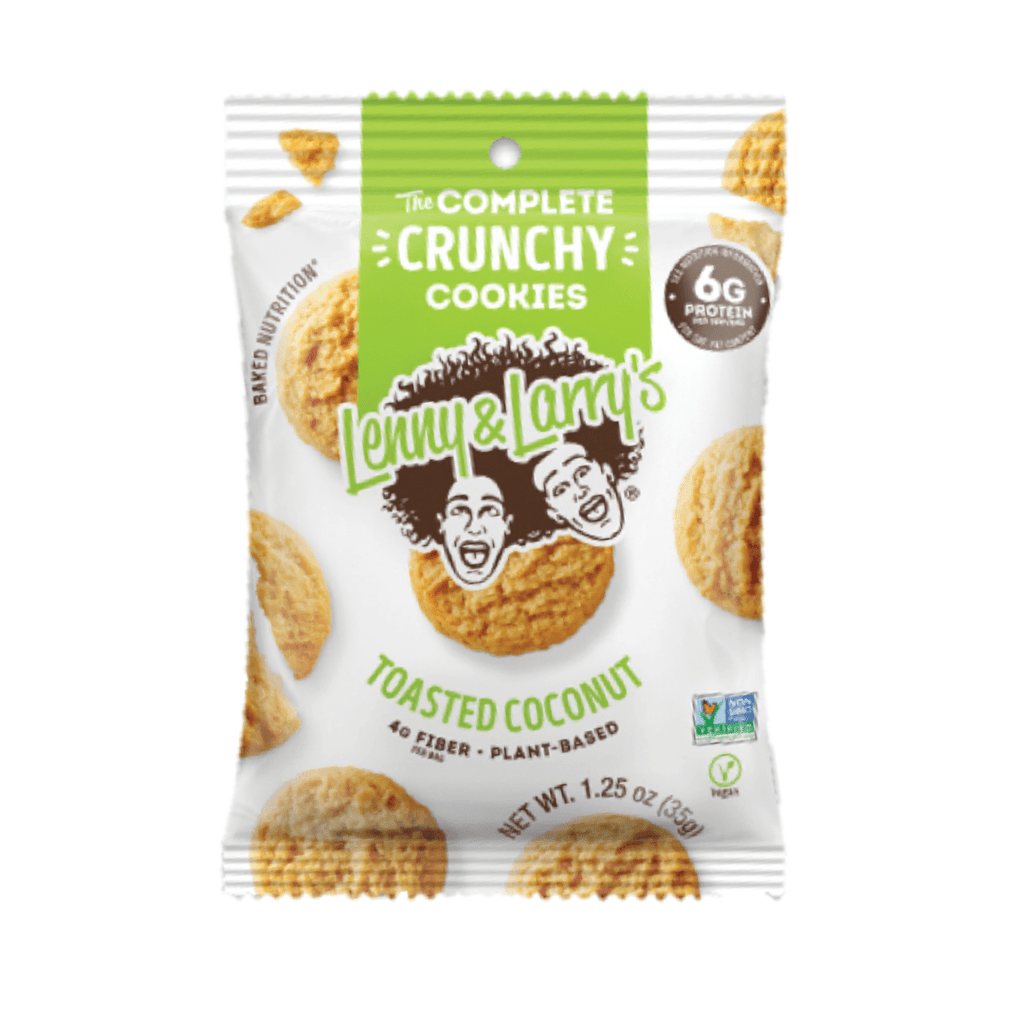 Lenny & Larry's Complete Crunchy Cookies Toasted Coconut, Protein Cookies, Lenny & Larry's, Protein Package Protein Package Pick and Mix Protein UK