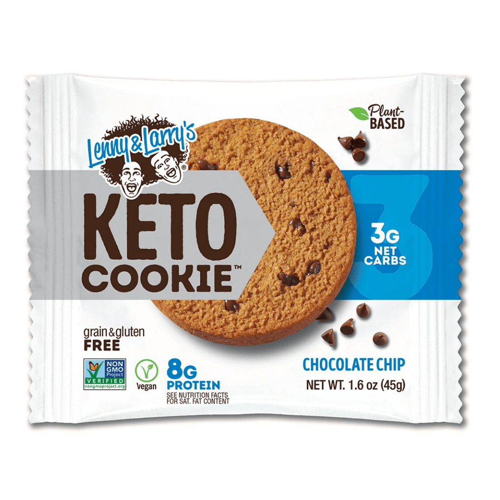Lenny & Larry's Keto Protein Cookie Chocolate Chip, Protein Cookies, Lenny & Larry's, Protein Package Protein Package Pick and Mix Protein UK