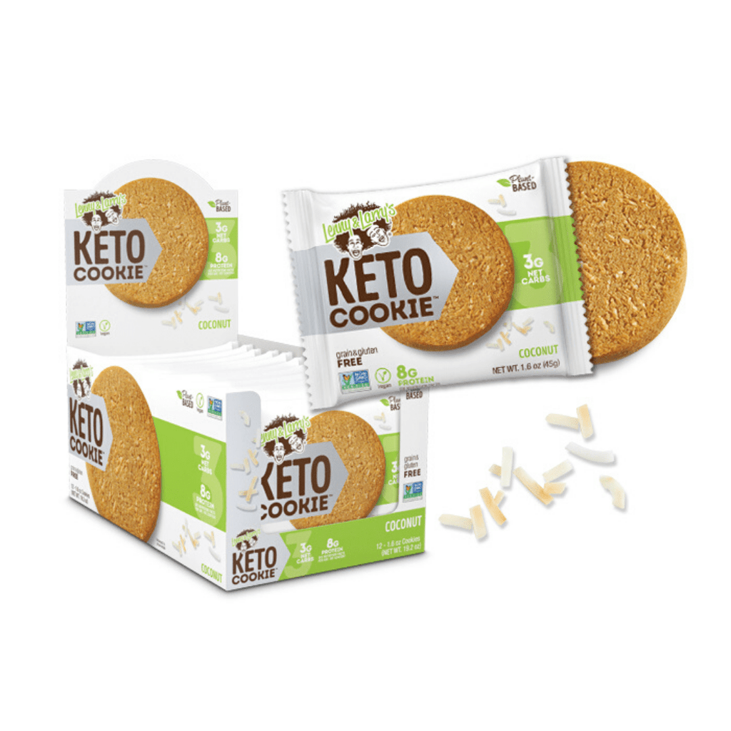 Lenny & Larry's Keto Protein Cookie Box (12 Cookies), Protein Cookies, Lenny & Larry's, Protein Package Protein Package Pick and Mix Protein UK
