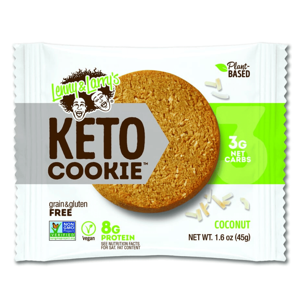Lenny & Larry's Keto Protein Cookie Coconut, Protein Cookies, Lenny & Larry's, Protein Package Protein Package Pick and Mix Protein UK