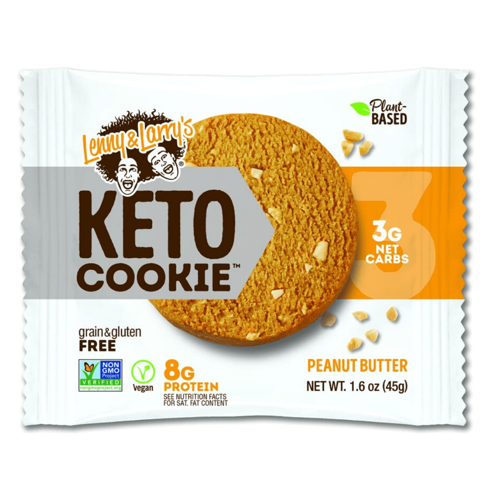 Lenny & Larry's Keto Protein Cookie Peanut Butter, Protein Cookies, Lenny & Larry's, Protein Package Protein Package Pick and Mix Protein UK