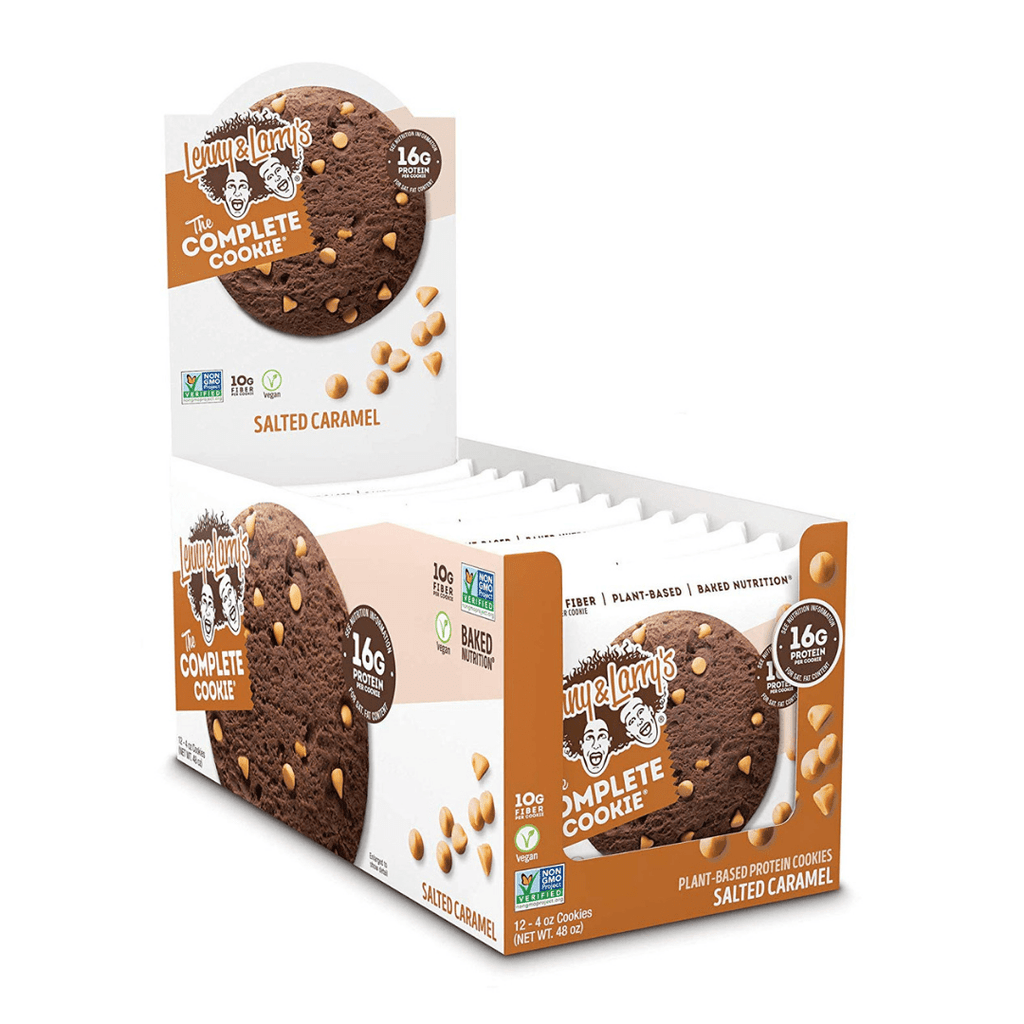 Lenny & Larry's Complete Cookie Salted Caramel - Protein Package