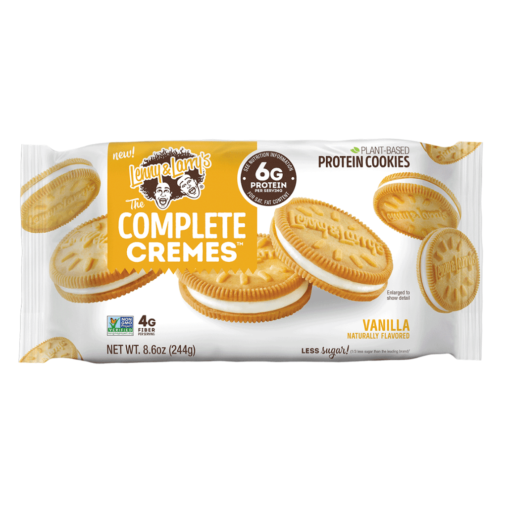 Lenny & Larry's Protein Cookie Cremes Vanilla, Protein Cookies, Lenny & Larry's, Protein Package Protein Package Pick and Mix Protein UK