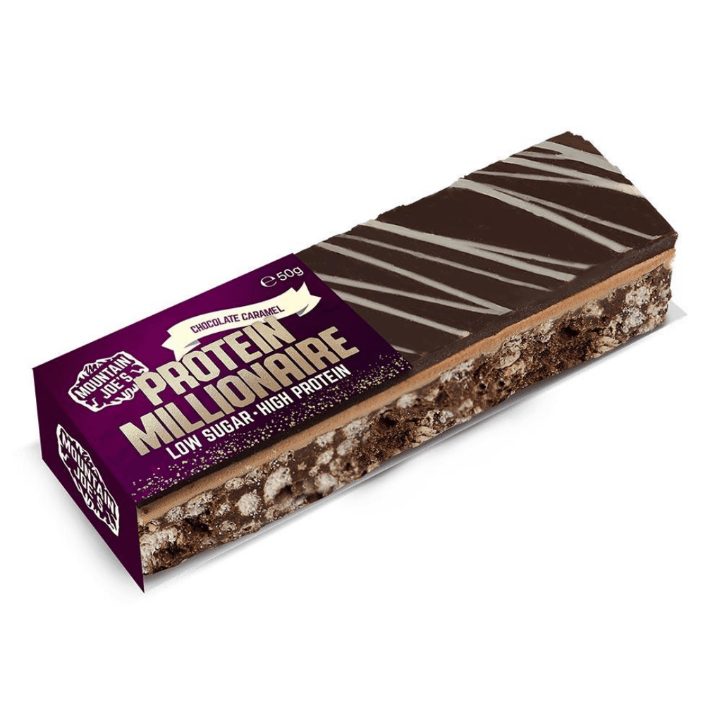 Milk Chocolate Caramel 50-gram Protein Millionaire Crunch Single Pick and mix UK