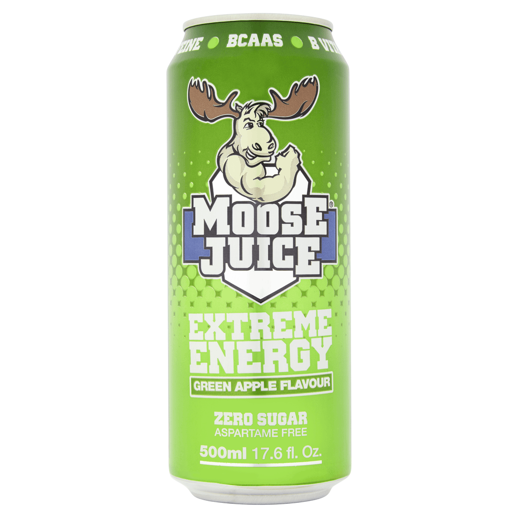Muscle Moose Moose Juice Green Apple, Energy Drinks, Muscle Moose, Protein Package, Pick and Mix Protein UK
