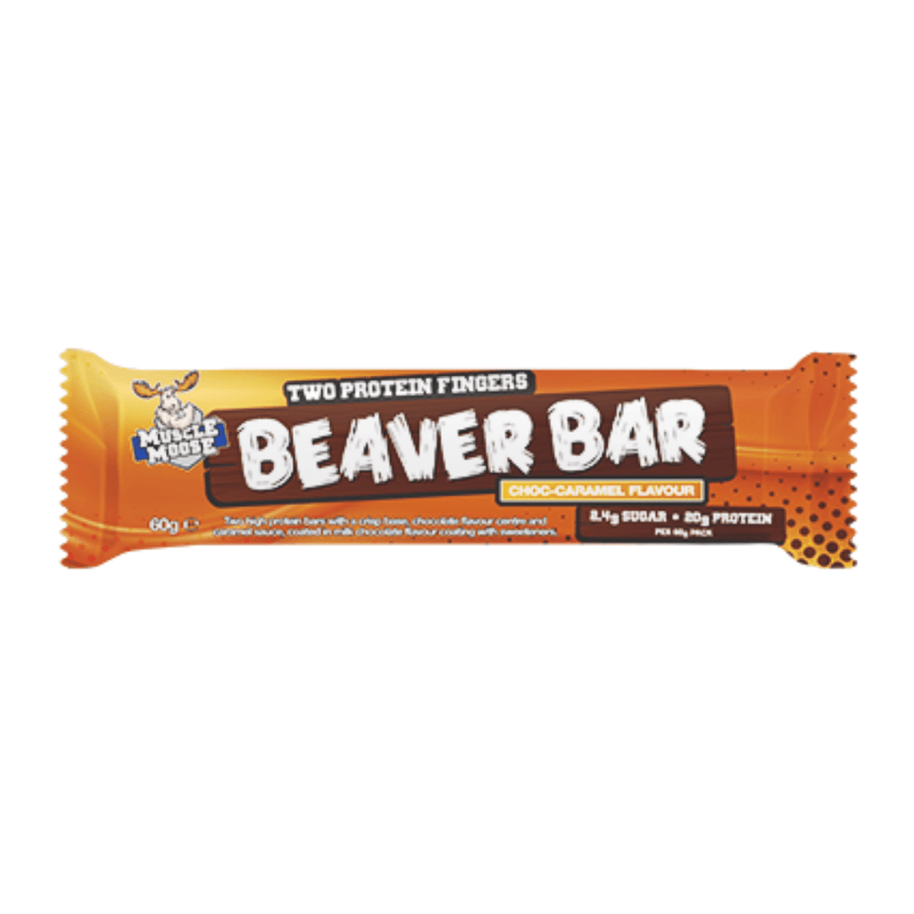 Muscle Moose Protein Beaver Bar Chocolate Caramel, Protein Bar, Muscle Moose, Protein Package Protein Package Pick and Mix Protein UK