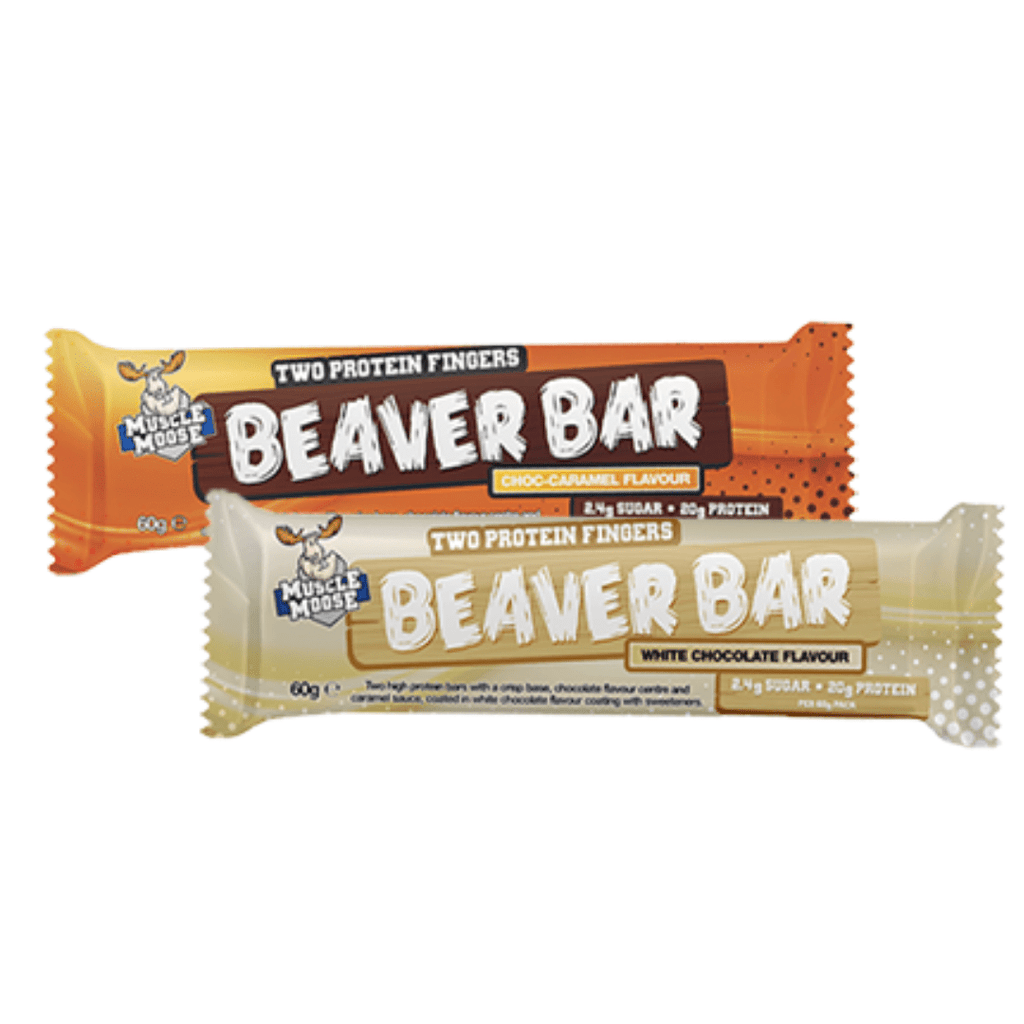 Muscle Moose Protein Beaver Bar Chocolate Caramel, Protein Bars, Muscle Moose, Protein Package, Pick and Mix Protein UK