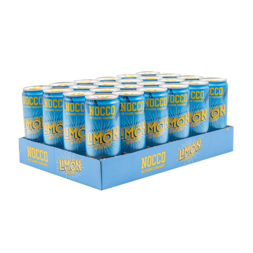 NOCCO BCAA Energy Drinks Box (12 Cans), BCAA, NOCCO, Protein Package Protein Package Pick and Mix Protein UK