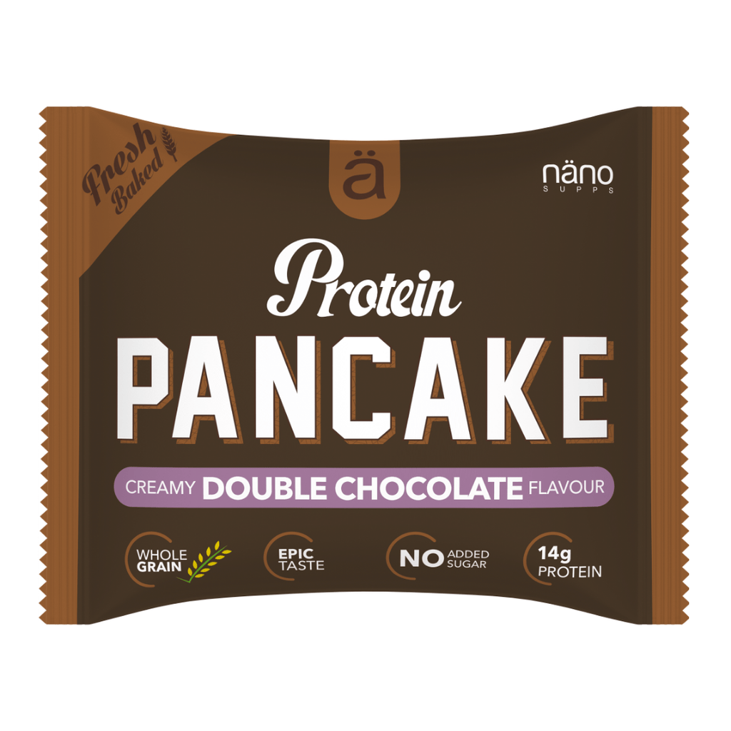 Nano Supps Protein Pancake Double Chocolate Filling