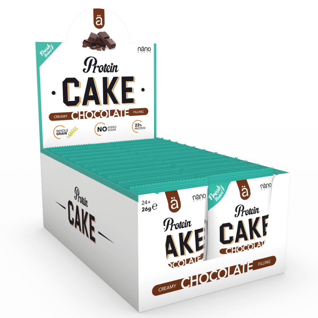 Nano Supps Protein Cake Box (24 Cakes), Protein Cakes, Nano Supps, Protein Package Protein Package Pick and Mix Protein UK