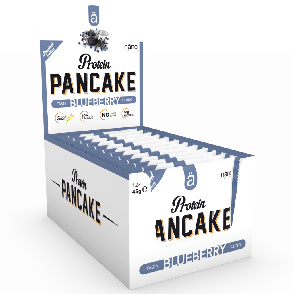 Nano Supps Protein Pancake Box (12 Pancakes), Protein Pancakes, Nano Supps, Protein Package Protein Package Pick and Mix Protein UK