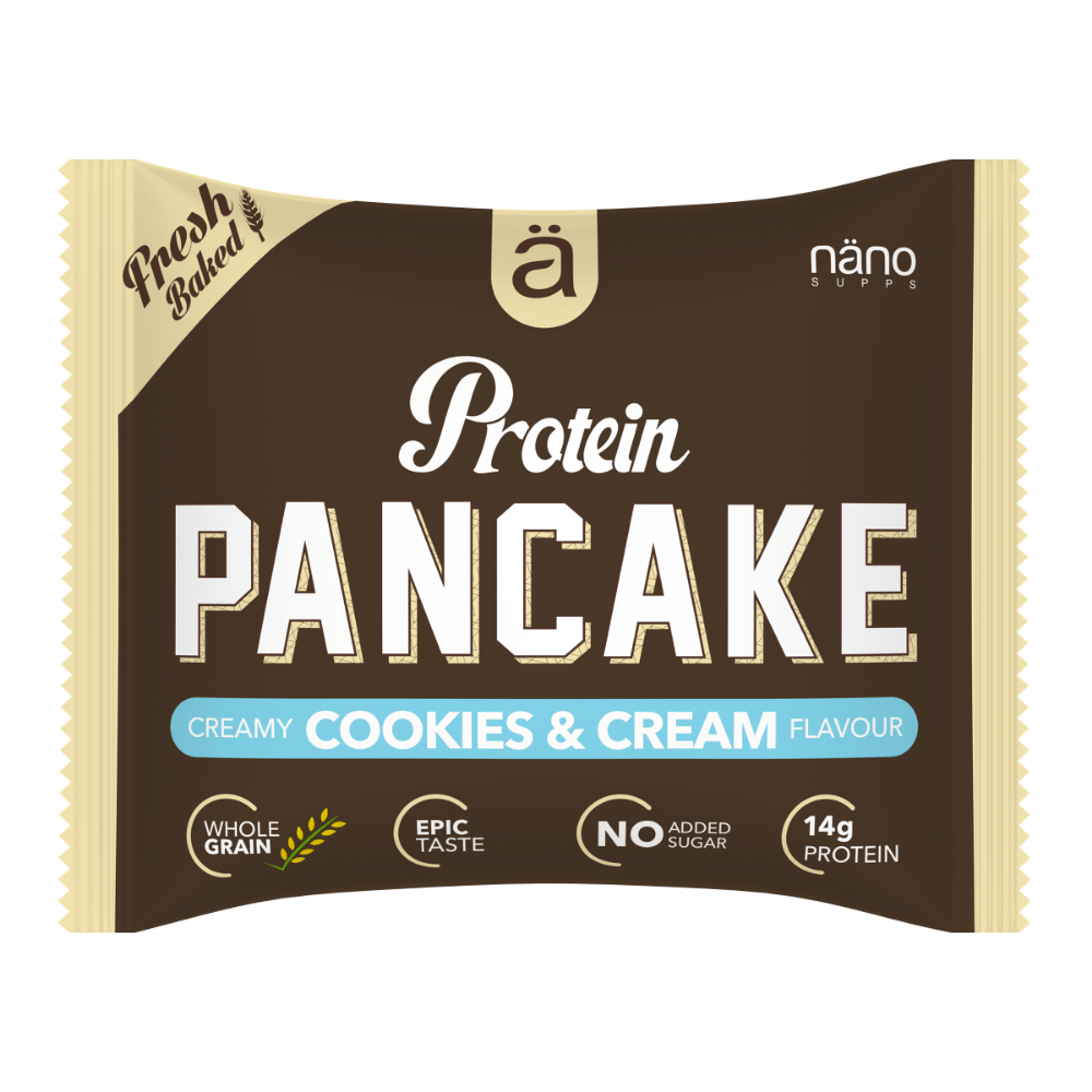 Nano Supps Protein Pancake Cookies & Cream Filling, Protein Pancakes, Nano Supps, Protein Package Protein Package Pick and Mix Protein UK