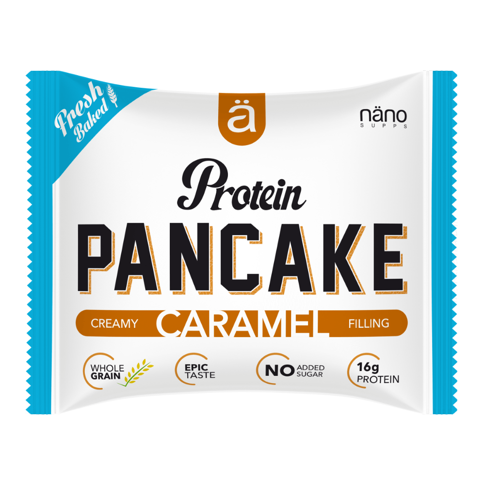 Nano Supps Protein Pancake Caramel Filling, Protein Pancakes, Nano Supps, Protein Package, Pick and Mix Protein UK