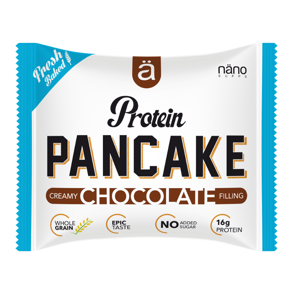 Nano Supps Protein Pancake Chocolate Filling - Protein Package