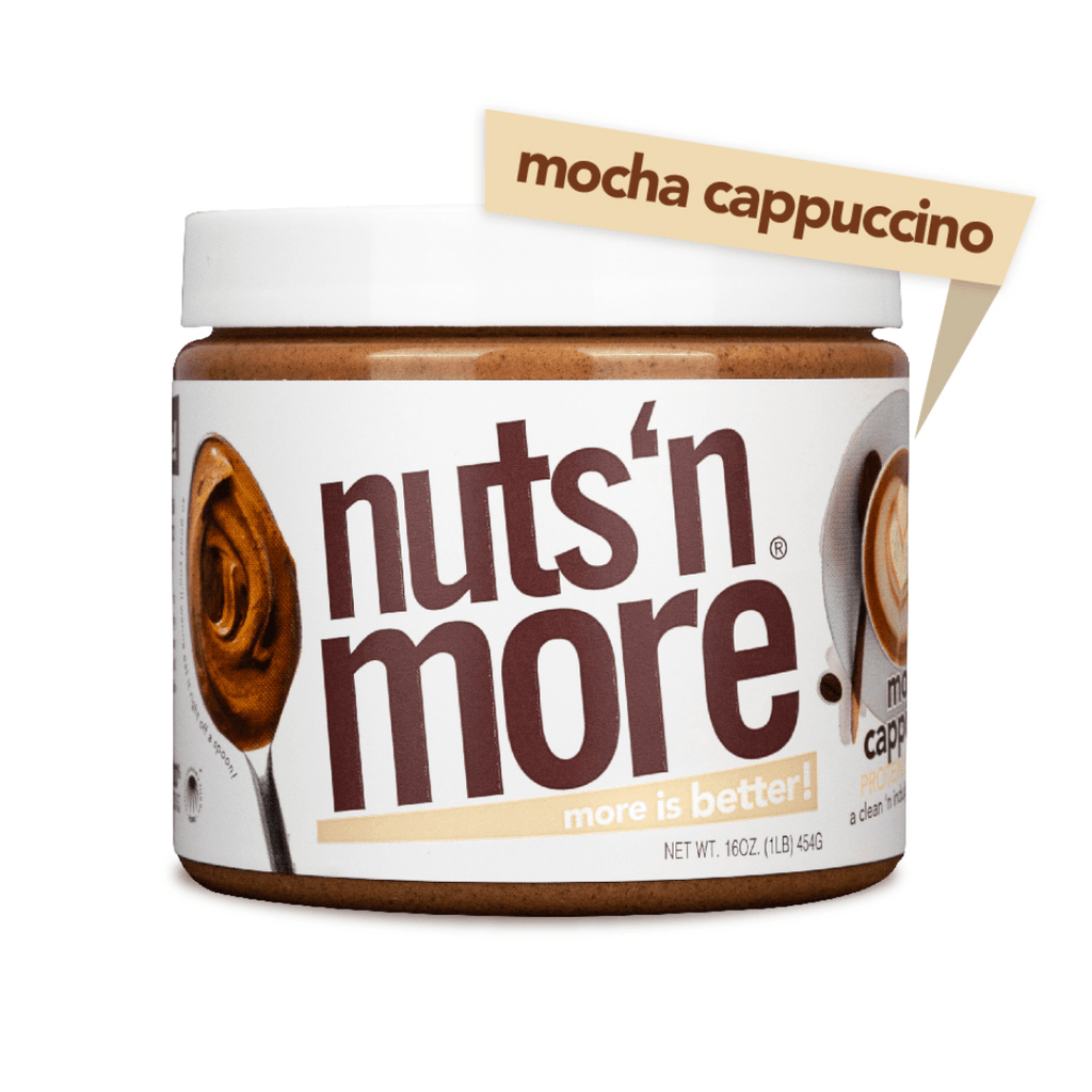 Nuts 'N More Peanut Butter Protein Spread Mocha Cappuccino, Protein Spread, Nuts N' More, Protein Package Protein Package Pick and Mix Protein UK