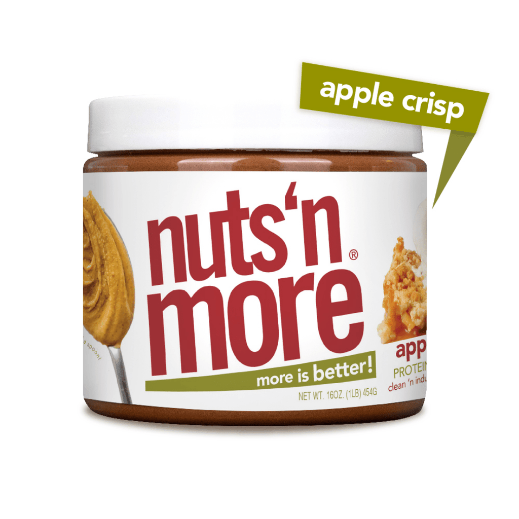 Nuts 'N More Peanut Butter Protein Spread Apple Crisp, Protein Spread, Nuts N' More, Protein Package Protein Package Pick and Mix Protein UK