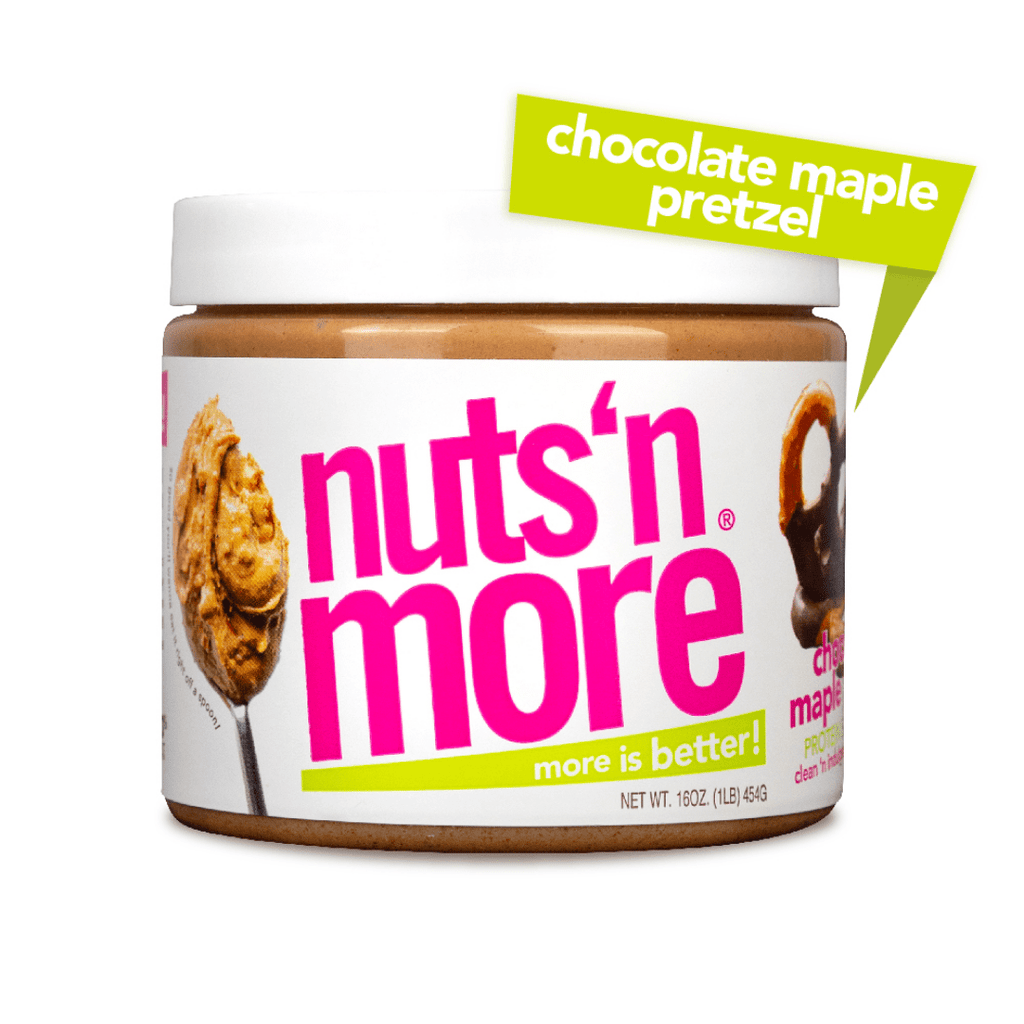 Nuts 'N More Peanut Butter Protein Spread Chocolate Maple Pretzel, Protein Spread, Nuts N' More, Protein Package Protein Package Pick and Mix Protein UK